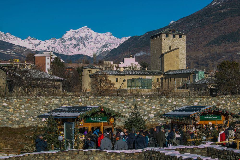 mercatini di Natale Aosta 2018