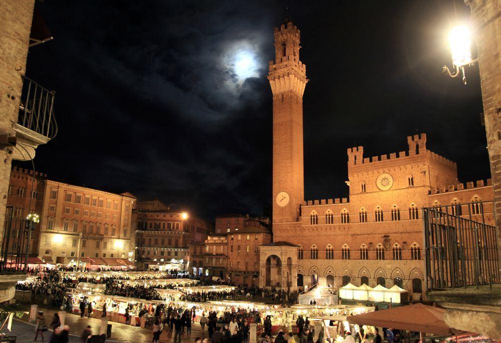 mercatini di Natale Piazza del Campo