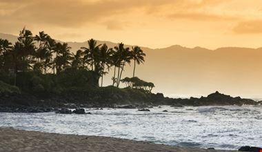 spiaggia di Lost a Oahu