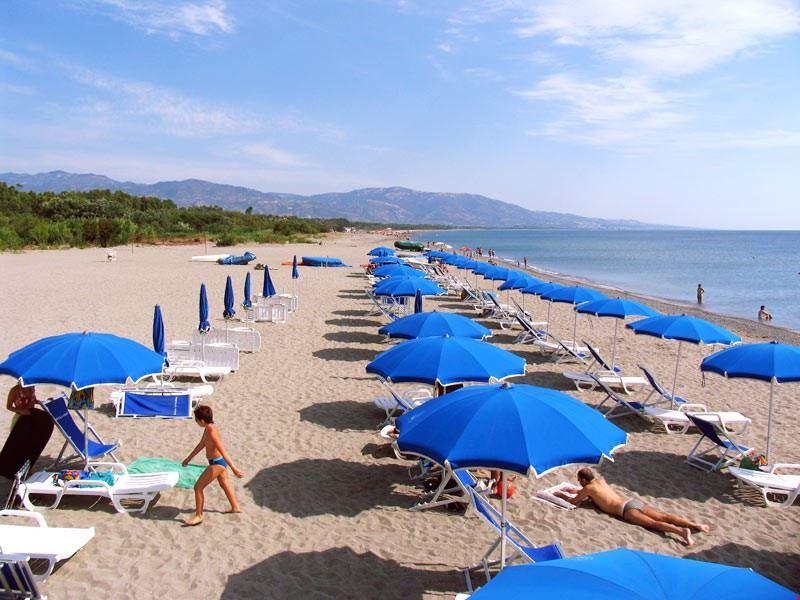 Spiaggia del Camping Village Pineta di Sibari
