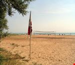 Spiaggia del camping a Vieste