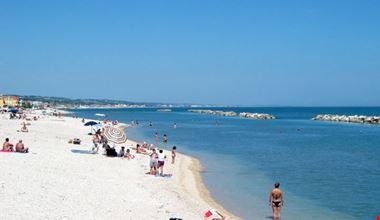 La Spiaggia del Camping Rocca Mare