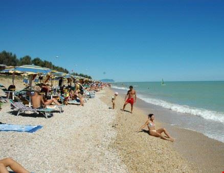 Spiaggia del Centro Vacanze nelle Marche