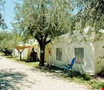 La zona campeggio