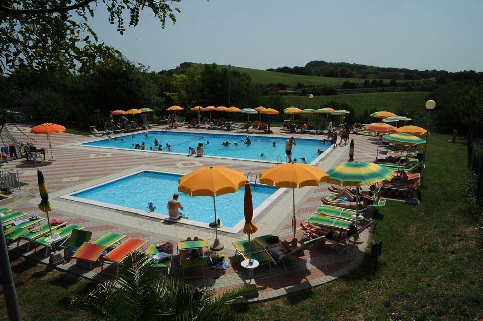 La piscina del Camping Panorama
