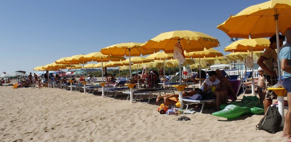 La Spiaggia del Camping Village Costa Verde