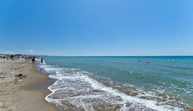 Campeggio sul mare, in Lazio