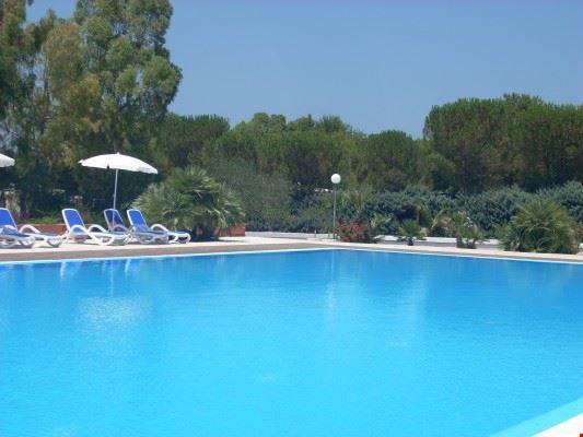 Campeggio con piscina