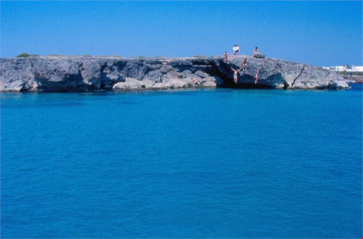 Campeggio sul mare di Porto Cesareo