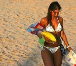 Spiaggia con sabbia fine
