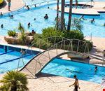 Particolare della piscina
