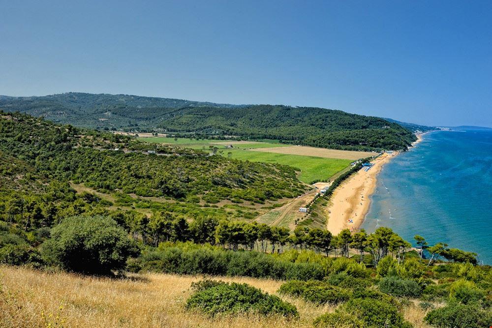 Campeggio sul mare in Puglia