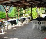 Terrazza Ristorante del camping in Liguria