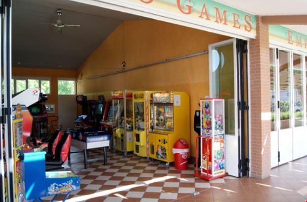 Sala giochi del camping village