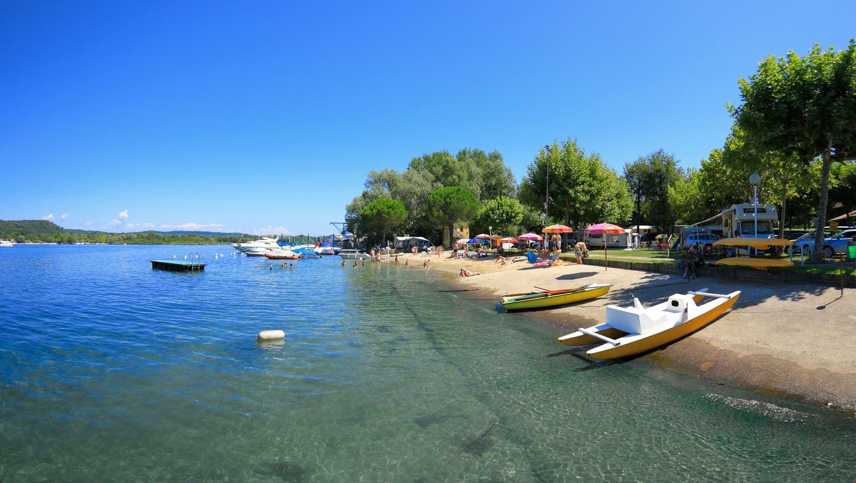 Campeggio sul Lago Maggiore