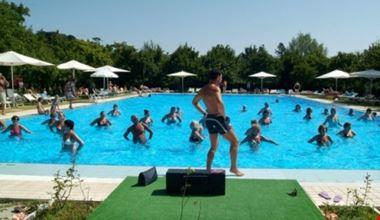 Animazione in piscina