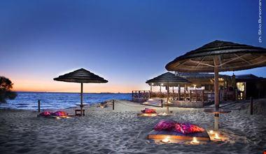 Spiaggia al tramonto, Gallipoli