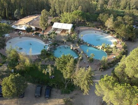 Le piscine del camping village