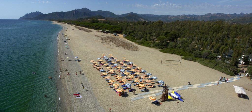 Spiaggia a Bari Sardo
