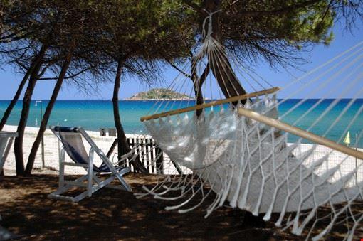Campeggio sul mare Sardegna