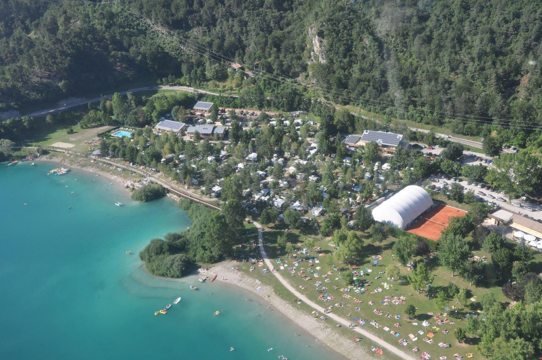 Campeggio con piscina sul Lago di Ledro, Trentino
