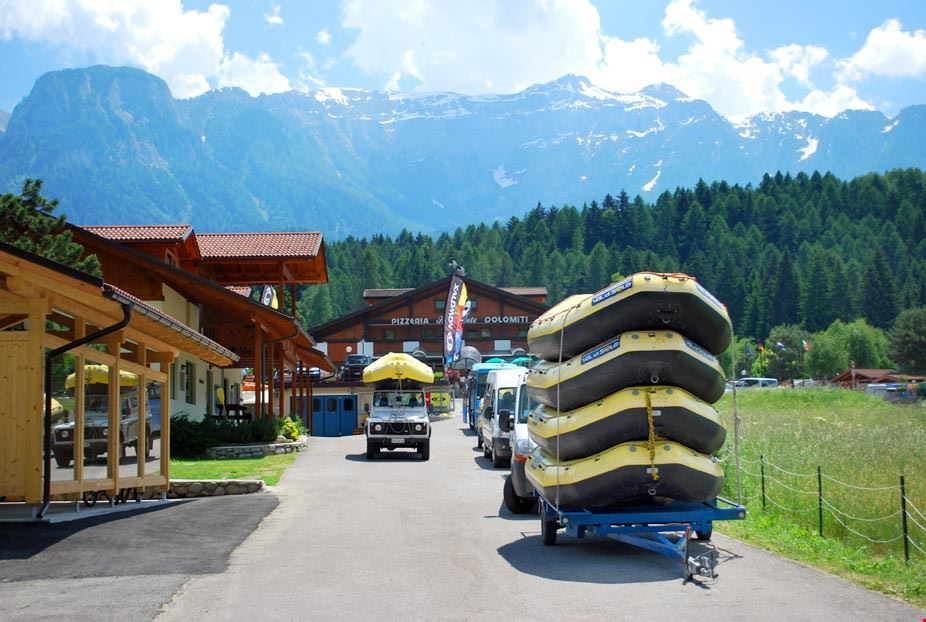 Rafting in Trentino