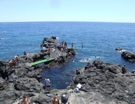 Spiaggia a Catania