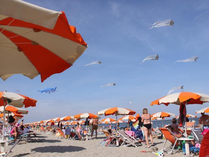 La spiaggia del Park Gallanti Village