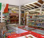 Il market del villaggio turistico