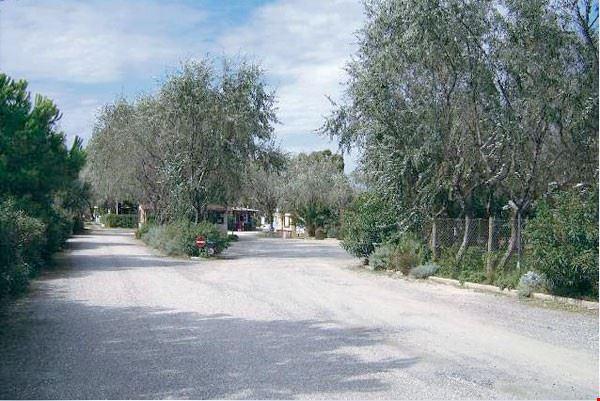 L'ingresso del camping