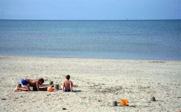 Spiaggia a Rosignano Marittimo