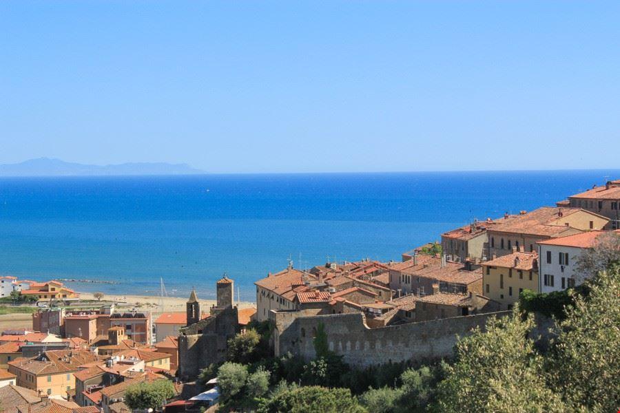 Il mare a Castiglione della Pescaia