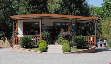 L'ingresso del camping village