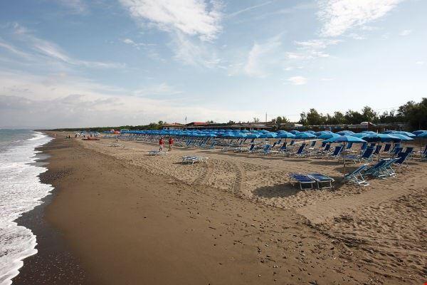 La spiaggia di Bibbona