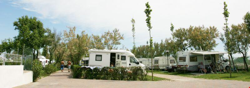 Campeggio per caravan