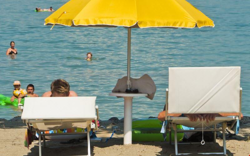 Spiaggia sul Lago di Garda