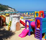 Area giochi sulla spiaggia
