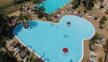 Le piscine viste dall'alto