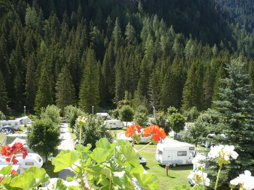 Le piazzole del Camping Miravalle