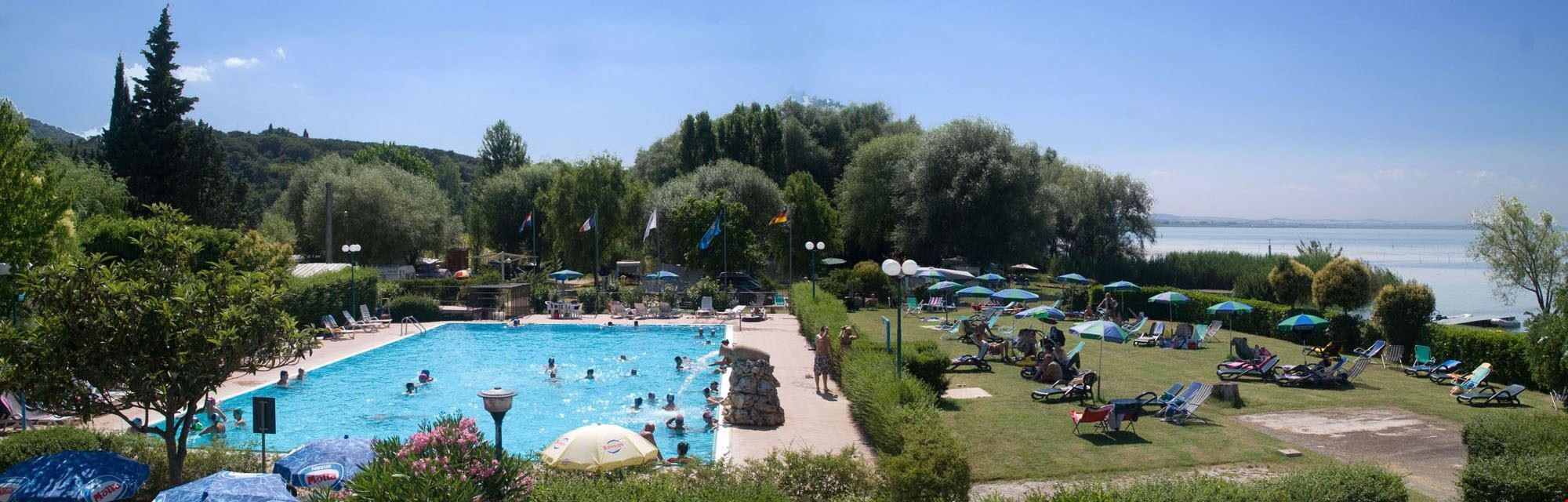 Camping con Piscina in Umbria