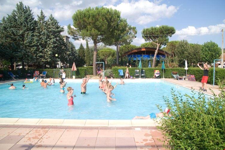 Camping in Umbria con Piscina