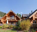 Gli chalet del camping residence Corones