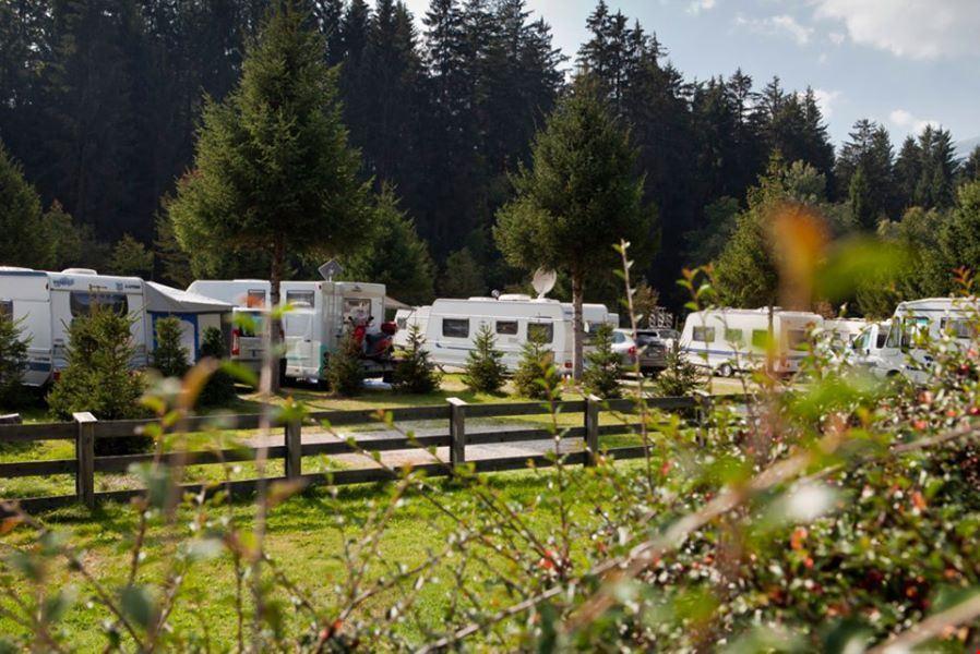 Camping con piazzole per camper