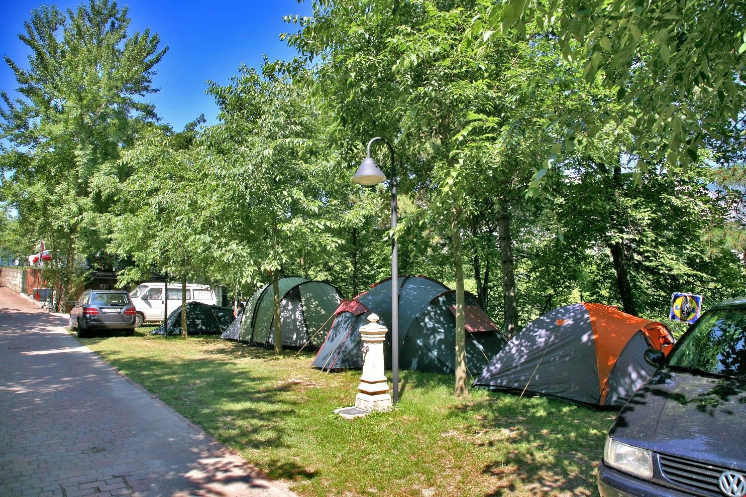 Camping a Malcesine