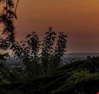 Paesaggio al tramonto in Veneto