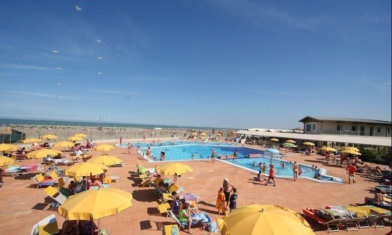 Villaggio Turistico con Piscina per bambini, Rosolina Mare