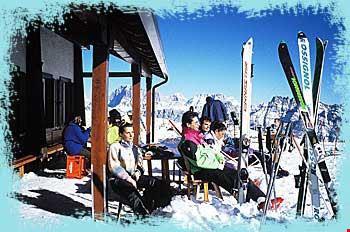 Campeggio aperto in inverno