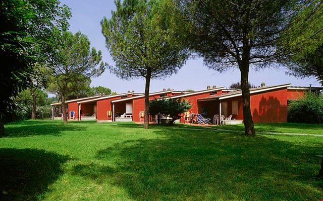 I bungalow del camping in Veneto