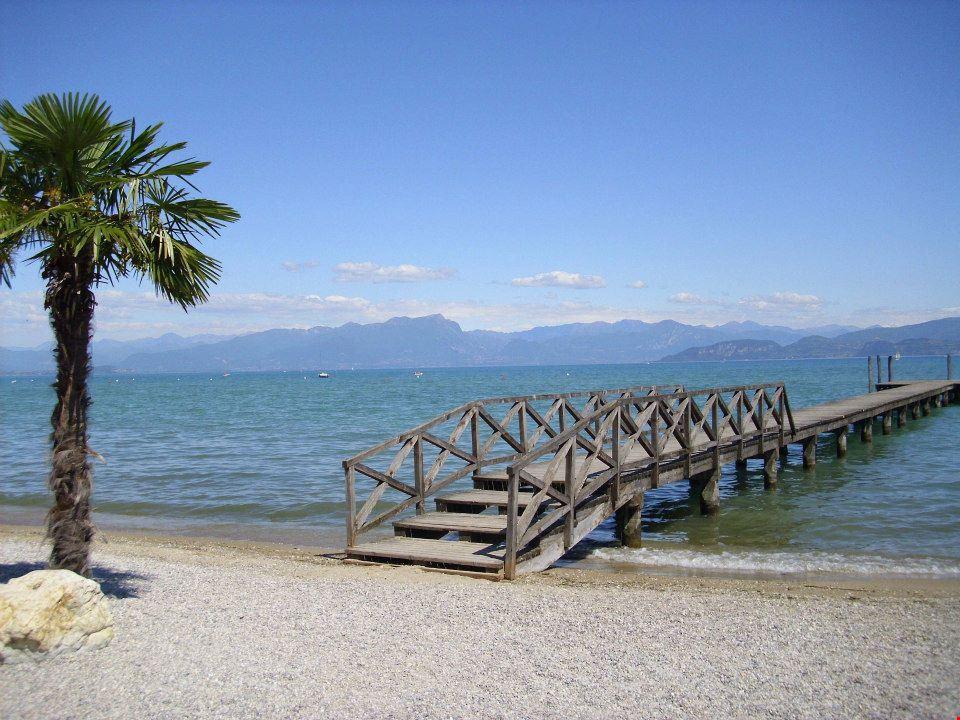 La spiaggia sul Lago di Garda
