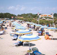 La spiaggia del Camping Tropical